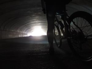 Interior túnel Aerport Reus       Foto: R.Buigues